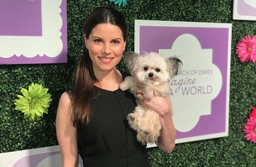 julia steines and norbert her dog