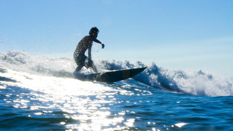 Surfing El Cuco El Salvador