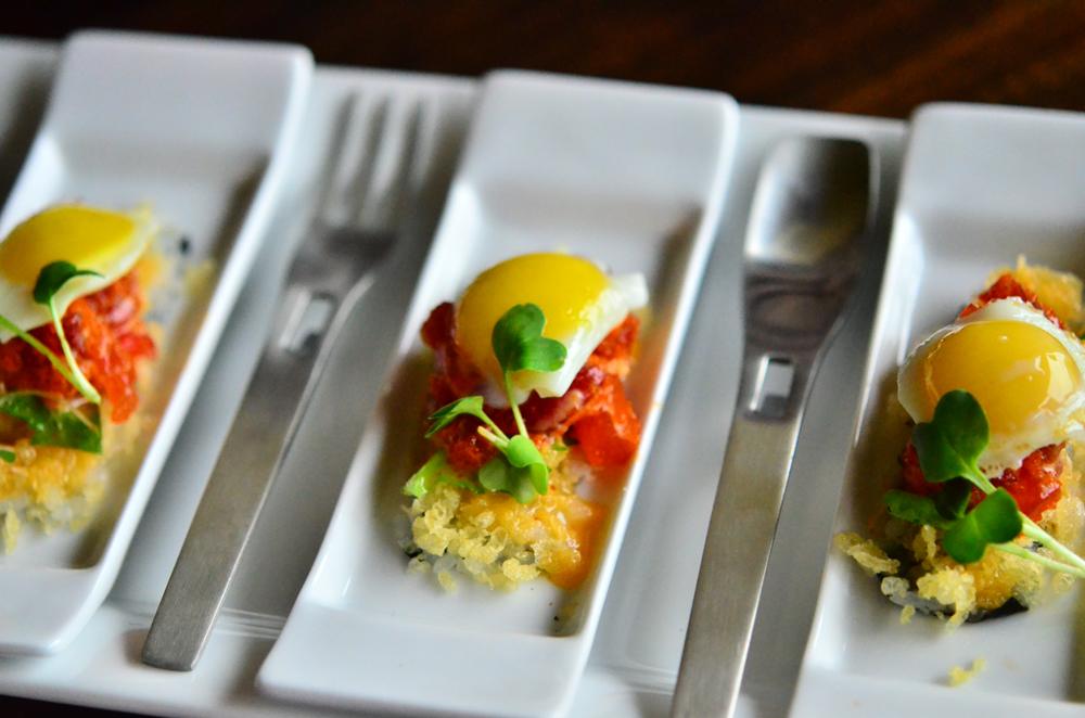 Eggs Benedict / Image Courtesy of Eight Sushi Lounge