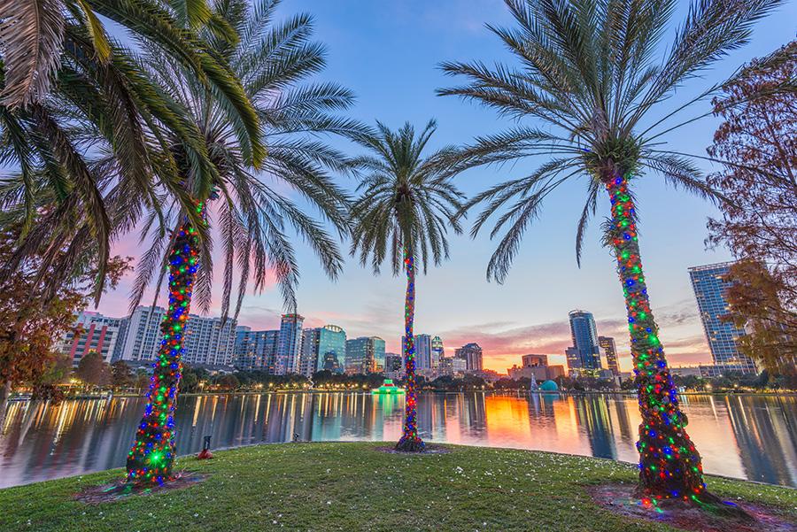 christmas lights in orlando usa