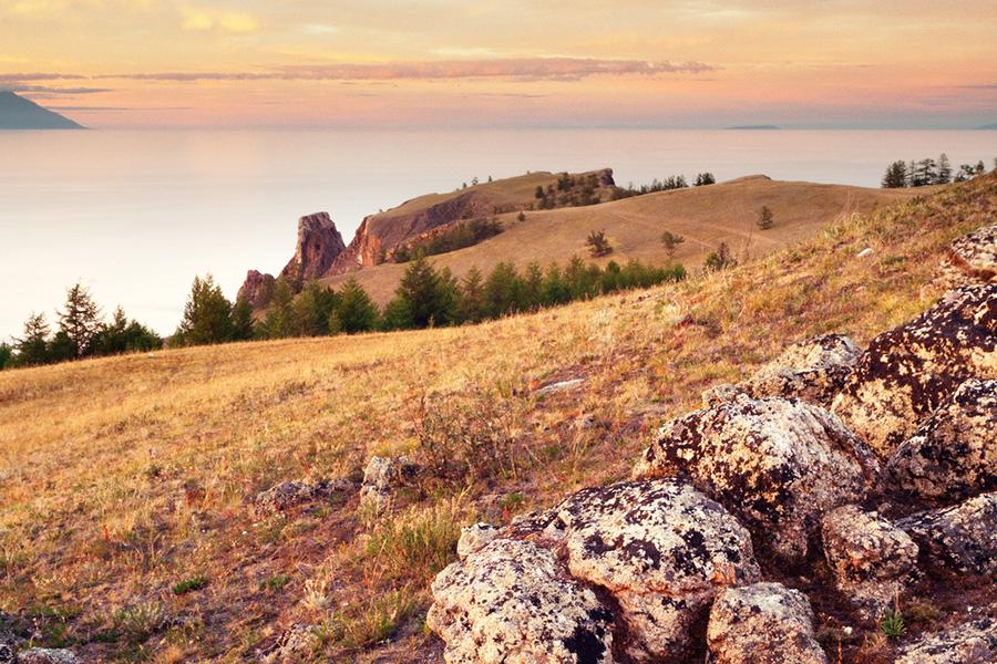 cape Khoboy - Olkhon island - Baikal